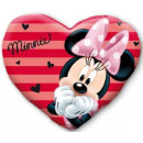 Disney Minnie heart shaped plush pillow, cushion