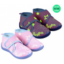 Großhandel Fashion & Accessoires: Peppa Pig In The Dark Leuchtende Hallenschuhe 21-2
