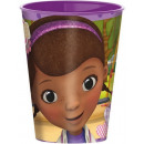 Disney Doc McStuffins , Dr. Plush Glass, Plastic