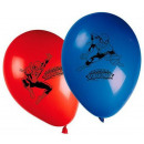 Spiderman , Spiderman Balloon, balloons 8 pcs