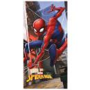 Spiderman bath towel, beach towel 70 * 140cm