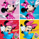 Hand towel face towel, Disney Minnie towel 30 * 30
