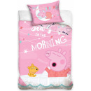 Child bedding Peppa Pig 100 × 135cm, 40 × 60 cm