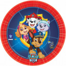 Paw Patrol , Mancs Guard Paper Plate with 8 Pieces
