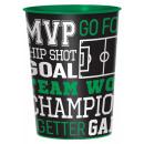 Football Goal, Soccer cup, plastic 473 ml