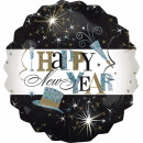 Happy New Year Foil Ball
