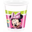 Kubek plastikowy Disney Minnie 8 szt. 200 ml