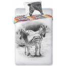 Zebra bed sheets 140 × 200cm, 70 × 90 cm