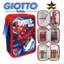 Spiderman pen holder filled with 3 bunk