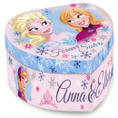 Heart-shaped jewelry box holder Disney frozen