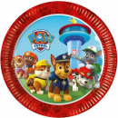 wholesale Party Items: Paw Patrol , Paw Patrol Paper Plate 8 pcs 19.5