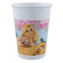 Disney Rapunzel, Princesses plastic cup 8 pcs