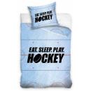 Pościel hokejowa 140 × 200 cm, 70 × 90 cm