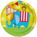 wholesale Lunchboxes & Water Bottles: Fisher Price Paper Plate 8-piece 23 cm