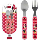 wholesale Licensed Products: Cutlery Kit - 2 Piece Disney Minnie