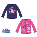 Langes T-Shirt für Peppa Pig , Top Peppa Pig 3-8 J