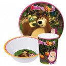Massa and bear tableware, melamine set