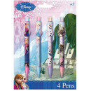 Pen Set of 4 pieces Disney frozen , Frozen