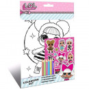 LOL Surprise coloring set with stickers