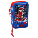 Spiderman pen holder filled with 2 floors
