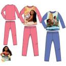 Enfants de longues pyjamas Disney Vaiana 3-8 ans