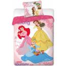 Pościel Disney Princess , Księżniczka 160 × 200cm