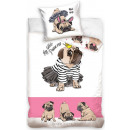 dog, The Dog bedding covers 160 × 200 cm, 70 × 80
