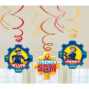 Fireman Sam , Sam the Firefighter Ribbon Decoratio