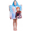 wholesale Towels: Disney Ice magic beach towel poncho 50 * 115 cm