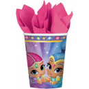 wholesale Gifts & Stationery: Shimmer and Shine  paper cup 8 pieces 250 ml