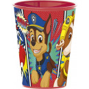 wholesale Licensed Products: Paw Patrol glass, plastic 260 ml