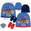 Baby cap + glove set Paw Patrol , Manch Guard