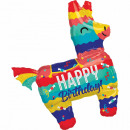 Palloncini Foil Happy Birthday 83 cm
