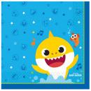 Baby Shark napkin 16 pcs