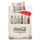 nagyker Ágyneműk és matracok: Coca-Cola ágyneműhuzat 140×200cm, 70×90 cm