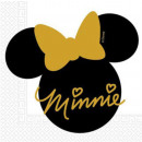 Disney Minnie Gold Napkin 20 sztuk