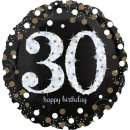 wholesale Party Items: Happy Birthday 30 Foil balloons 71 cm