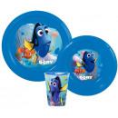 Vaisselle, ensembles en plastique de Disney Nemo e
