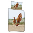 Pościel jeździecka dla dzieci 100 × 140 cm, 40 × 4