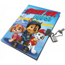 Memorial book, locksmith log Paw Patrol, Paw Patro