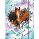Großhandel Mappen & Ordner: Bed, The Horses A / 4 Gummimappe