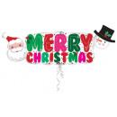 Merry Christmas, Merry Christmas Foil Balloons 104