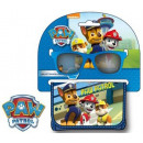 Sunglasses + Wallet Set with Paw Patrol
