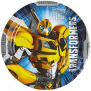 Transformers Paper Plate 8-delig 18 cm
