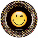Emoji Paper plate 8 x 23 cm
