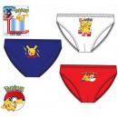 Sous-vêtements Pokemon 3 pièces / paquet pour enfa