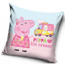 Peppa Schweinekissen, dekoratives Kissen 40 * 40 c