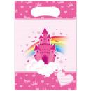 grossiste Emballage cadeau: Cadeaux Rainbow Castle Bag 6 pièces