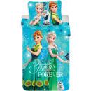 Drap de lit Disney frozen , Ice Magic 140 × 200cm