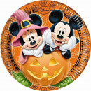 Disney Mickey plaque Halloween papier 8 pièces 23